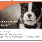 FREE Sample – Hartz Puppy Pads