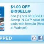 Printable Coupon: $1 Off Bissell