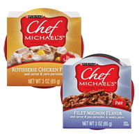 Chef micheal s dog food and milo s kitchen treats these are high