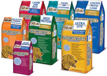 Nature Select Dog Food Distributors