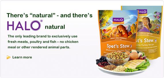 Halo dog food coupons