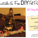 Irresistible and Free DIY Pet Projects: DIY Dog Rope Toy