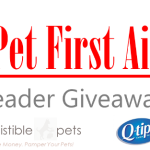 Giveaway: DIY Pet First Aid Kit From Q-tips & Irresistible Pets