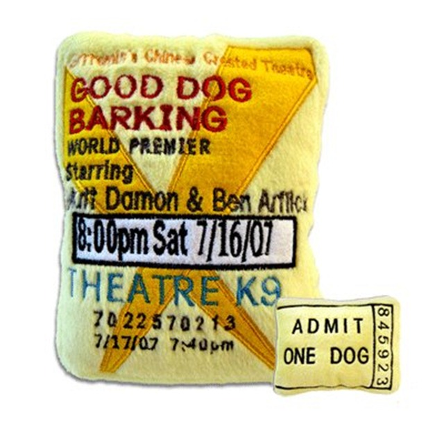 Beverly Hills Chihuahua 3 - Movie Ticket Dog Toy