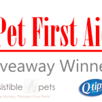 Winner of the Q-Tips DIY Pet First Aid Kit Giveaway