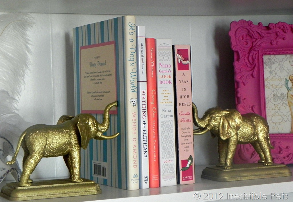 Diy 4 Gold Elephant Bookends Irresistible Pets