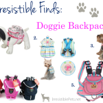 Irresistible Finds {Doggie Backpacks}