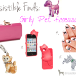 Irresistible Finds {Girly Pet Accessories}