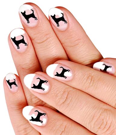 Chihuahua Nail Art