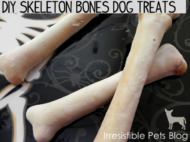 DIY Skeleton Bones Dog  Treats