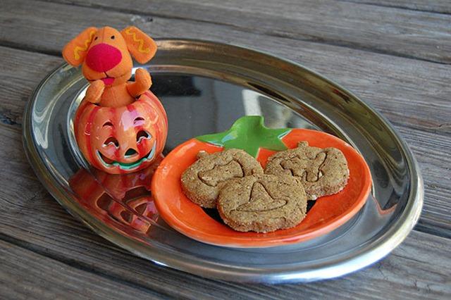 Howloween - Pumpkin and Peanut Butter Dog Treats