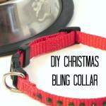 DIY Christmas Bling Collar