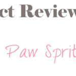 Review–Dirty Dog Paw Spritz