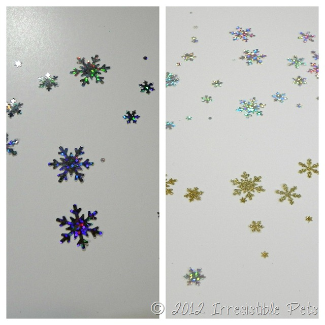 Tulip Glitter Transfer Sheets Cutouts