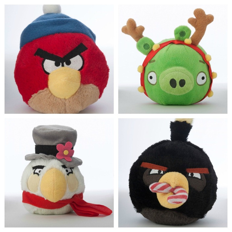 Angry Birds Stuffed Toys : Angry bird holiday pet toys review giveaway