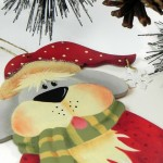 Irresistible Gift Ideas {Hand Painted Ornaments}