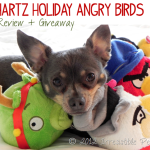 Angry Bird Holiday Pet Toys {Review + Giveaway}
