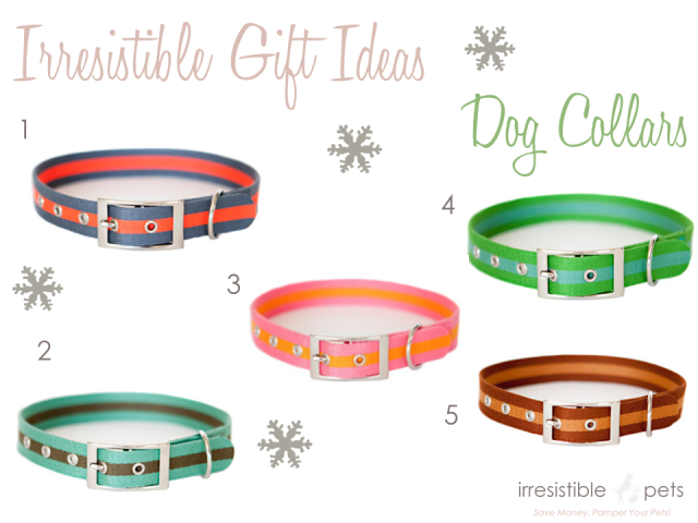 Irresistible Pets Gift Ideas - Dog Collars