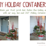 DIY Holiday Containers {For The Home}