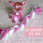 DIY Valentines Day Dog Toy