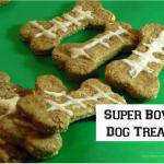 Super Bones {Super Bowl Dog Treats}