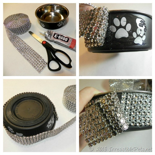 DIY Blingy Dog Bowl Supplies