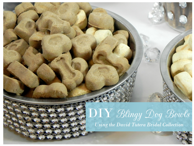 DIY Blingy Dog Bowls from IrresistiblePets.net