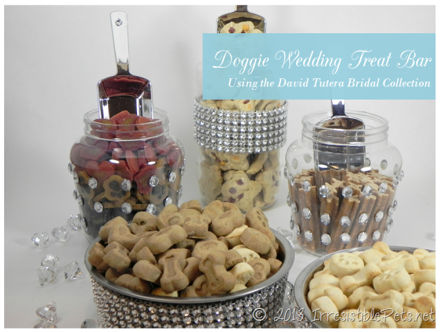 DIY Doggie Wedding Treat Bar from IrresistiblePets.net
