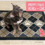 Preppy Paws Mat {Review + Giveaway!}