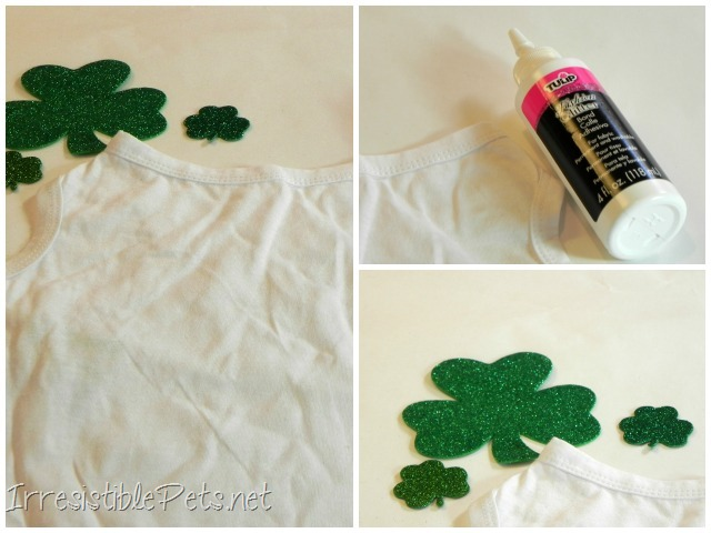 DIY Shamrock Dog Shirt - Supplies You Need