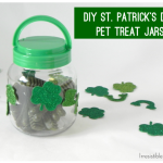 DIY St. Patrick's Day Pet Treat Jars