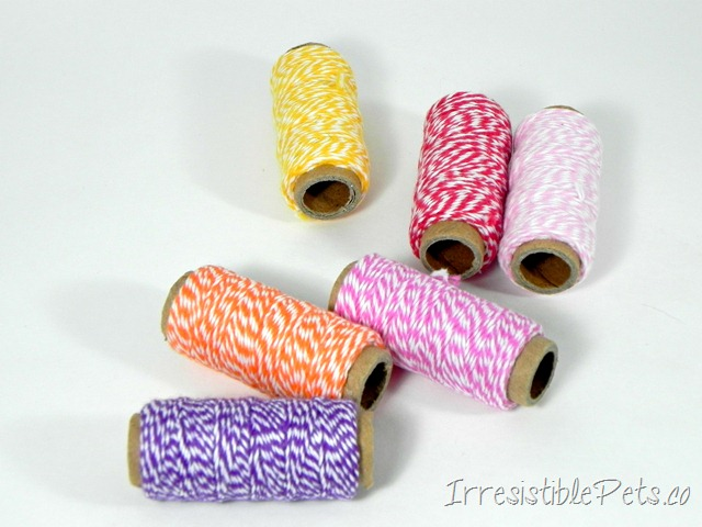 DIY Cat Wand Bakers Twine via IrresistiblePets.co