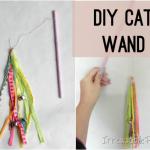 DIY Cat Wand