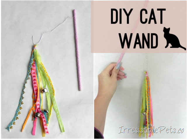 Diy cat wand irresistible pets for Diy cat wand