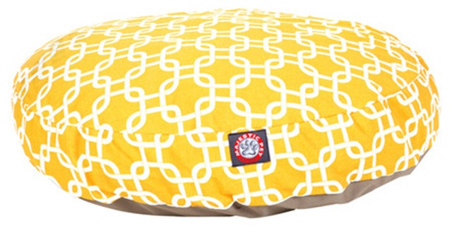 Links Pet Bed in Yellow