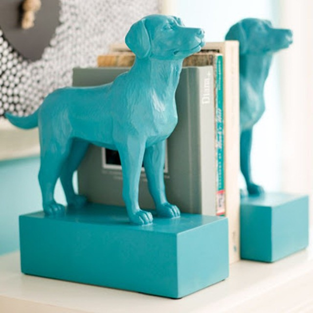 pottery barn inspired diy dog bookends irresistible pets. Black Bedroom Furniture Sets. Home Design Ideas