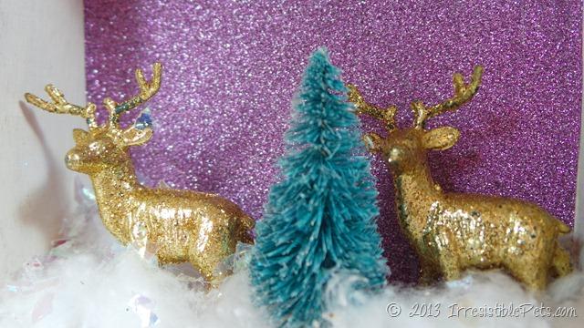 DIY Winter Wonderland Diorama 1