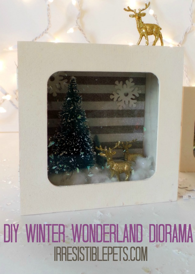 DIY Winter Wonderland Diorama Tutorial by IrresistiblePets