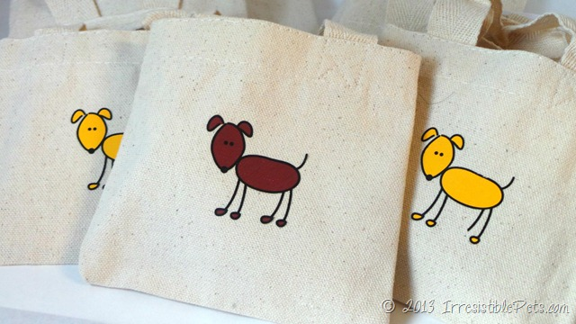 Random Acts of Kindness Dog Treat Tote Bags