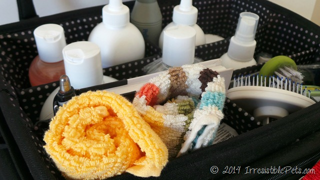 DIY Pet Grooming Kit Towels by IrresistiblePets.com