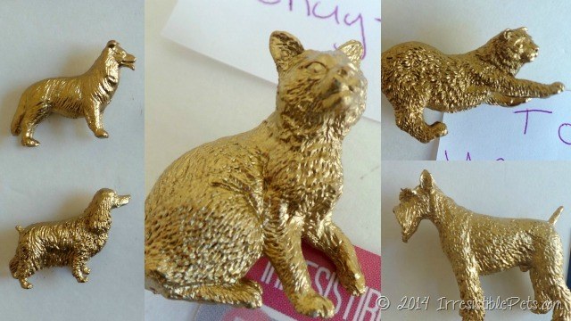 DIY Gold Pet Magnets IrresistiblePets.com
