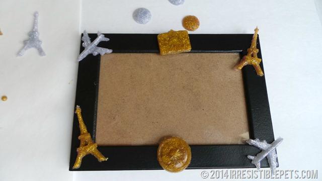 DIY 3D Photo Frame Modge Podge Melts