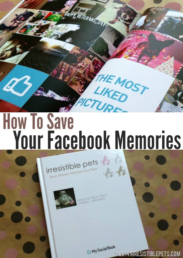 How To Save Your Facebook Memories at IrresistiblePets.com