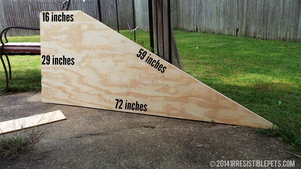 Exceptional DIY Dog Ramp Angled Sides