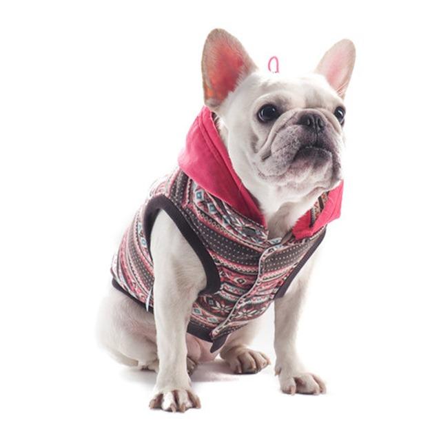 Tribal Pattern Dog Jacket