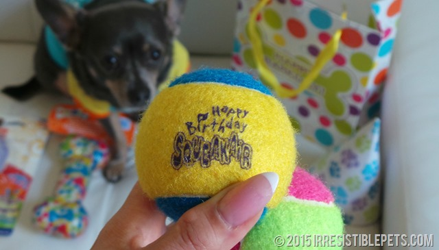 Happy Birthday Tennis Balls