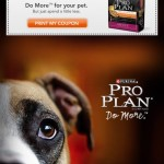 Free Coupon for $5 off Purina Pro Plan Pet Food