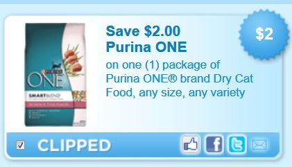 photo regarding Purina One Printable Coupon identify Printable Coupon: $2 off Purina One particular Cat Foods - Irresistible Animals