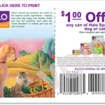 Halo High Dollar Coupons – Dog and Cat Food