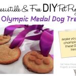 DIY Olympic Medal Dog Treats